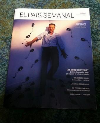 Julio Alonso en El País Semanal