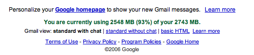 gmail 93%