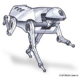 Boceto de perro mecánico
