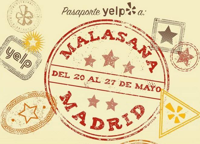pasaporte Yelp Malasaña