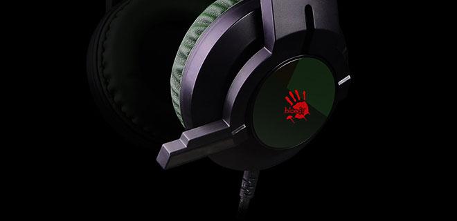 Bloody J437 Glare Virtual 7.1 Gaming Headset (Black)