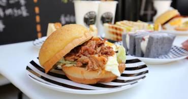 台中北區│翻白眼女孩炭烤三明治-貨櫃屋碳烤土司.沒來吃過別說你是網美