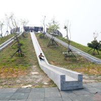 台中大雅│大雅中科公園-台中最長磨石溜滑梯.就在潭雅神綠園道終點.小朋友玩樂新夯點
