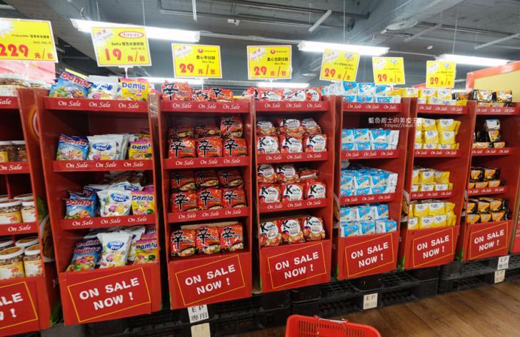20190223154831 29 - Big King Shopping Center-不用出國就能買到東南亞餅乾、零食、咖啡、調味料,貼心分國別擺放