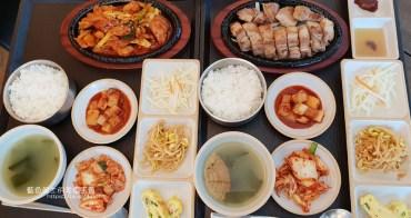 台中西屯│韓家正宗韓國料理-平日午餐二百元有找,經濟實惠有誠意