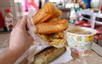 20190928011105 2 - 長江早點-台中人氣排隊中式早餐,肉包現做現蒸,燒餅油條蛋來一份,鹹豆漿份量足