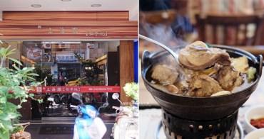 台中南屯│上海灘租界地-復古懷舊風,推麻油雞鍋和豬小排,餐後再來杯現打果汁