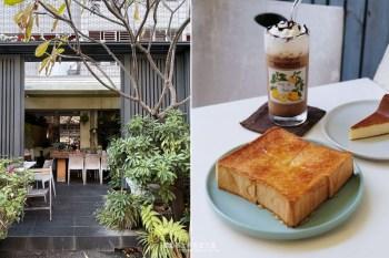 台中南屯│edia cafe-植栽包圍,大進街開業二十年隱密低調咖啡廳