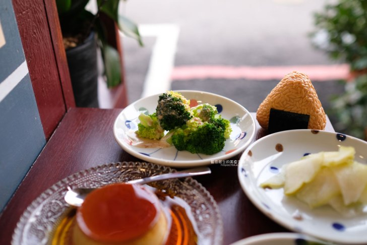 20210309003257 26 - 越光事務所│美村路上日式飯糰,還有布丁可以當飯後甜點喔