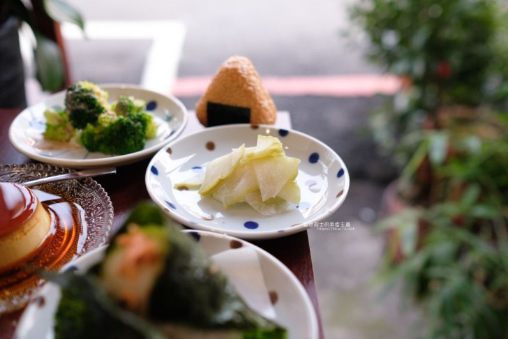 20210309003258 20 - 越光事務所│美村路上日式飯糰,還有布丁可以當飯後甜點喔