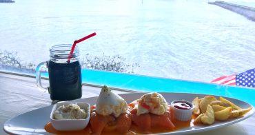 『2017沖繩』私房美食-美麗的早午餐配海景,放鬆無限-海辺の食堂 KUPU KUPU(親子親善)