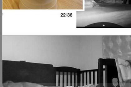 『已結團』忙碌的媽媽也能有透視眼-MommyEye旋轉式寶寶用無線網路攝影機