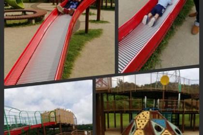 『2016沖繩親子』無料卻可以讓孩子玩到不想離開-溜滑梯公園大集合