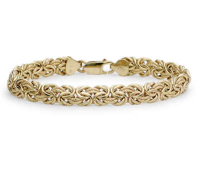 Byzantine Bracelet In 18k Yellow Gold  Blue Nile