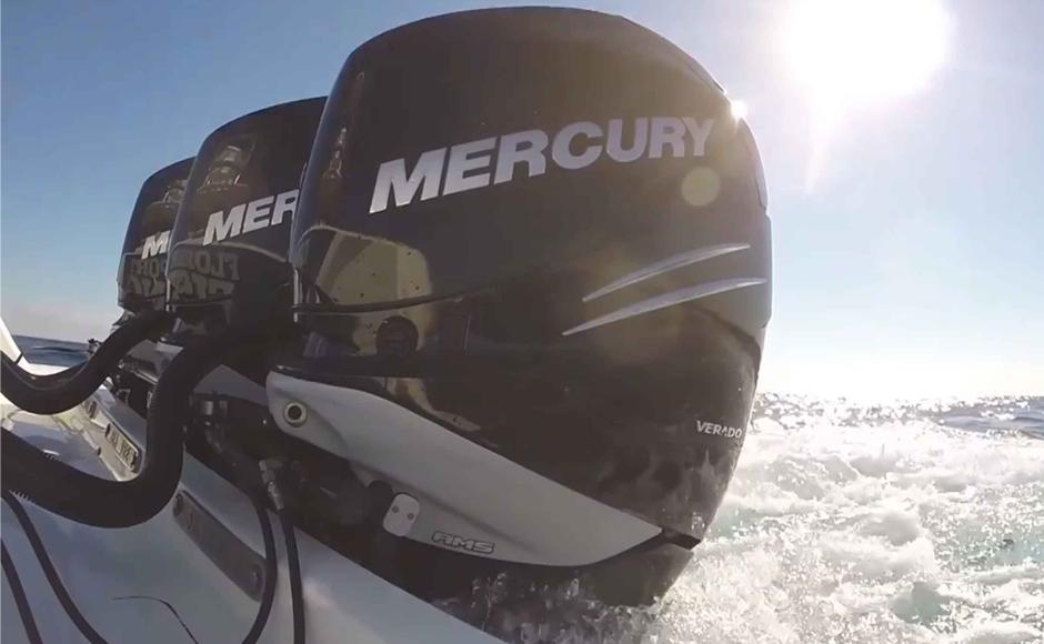 Miami Boat Show Mercury Present The New Mercury Verado 400r