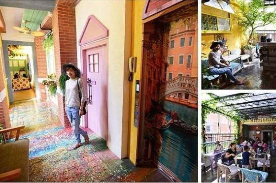 【台北】迪化街裡的花園咖啡廳 D.G. Cafe 、近捷運大橋頭站、台北捷運美食餐廳推薦