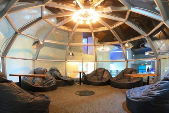 新北市新景點   林口東勢閱覽室.星際太空艙閱讀室,星空銀河相伴圖書館,雨天親子景點又多一個