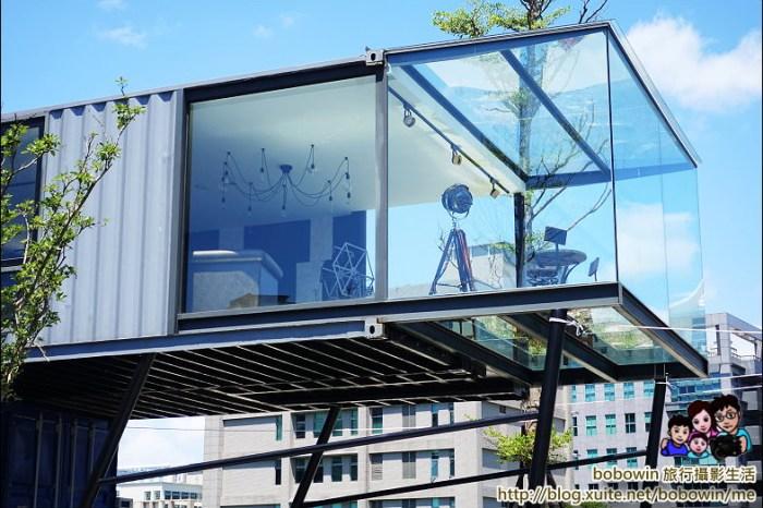 《 台北內湖美食餐廳 》ERC Cafe & 堤緣雞塢 城市中的貨櫃玻璃屋咖啡廳