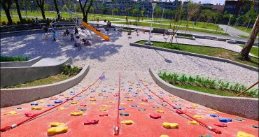 高雄特色公園》小港森林公園兒童遊戲場! 溜滑梯大沙坑. 攀爬網. 搖搖馬. 看飛機,親子景點推薦