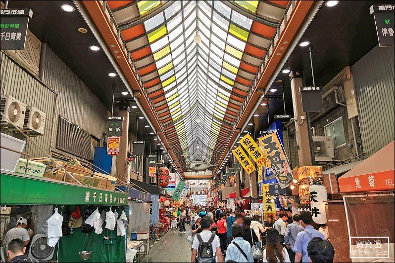 大阪住宿推薦》WBF難波黑門飯店 。黑門市場正對面。藥妝超商在隔壁、地鐵日本橋站2分鐘 - 寶寶溫旅行親子生活