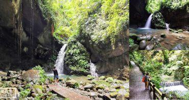 桃園秘境回歸!! 桃園三民蝙蝠洞,彎月水濂洞穴、水岸瀑布步道,晴天也要撐傘的步道