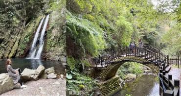 新竹尖石景點》老鷹溪步道,1小時賞瀑布森林、溪谷木棧步道全攻略. 適合親子同遊