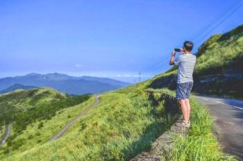 新北市景點》平溪五分山步道~蜿蜒山稜線上的長城,從山頂往下爬的顛倒步道,順遊平溪老街