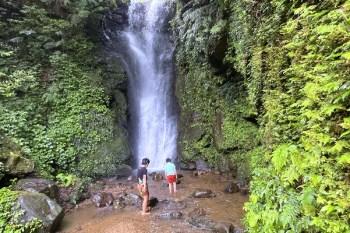 基隆私房景點|泰安瀑布步道,10分鐘賞瀑布戲水,陰離子芬多精一次擁有