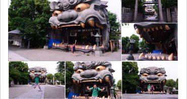[ 日本關西自由行] Day2 Part1 大阪難波八阪神社 ~ 巨無霸大獅子的繪馬殿