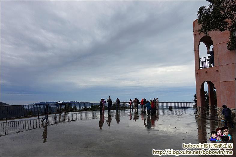 《 苗栗三義景觀餐廳 》三義雲洞山莊、360度觀景臺看雲海美景 - 寶寶溫旅行親子生活