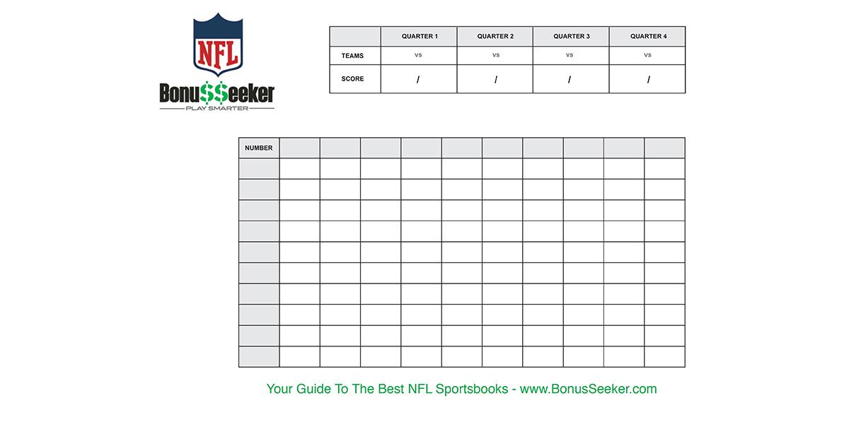 Weekly Football Pool Template Excel For Your Needs