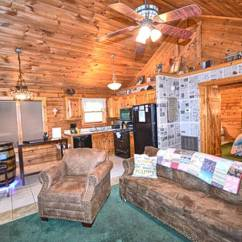 Sofa Sleeper For Cabin Light Blue Modern A Tranquil Moment 1 Bedroom Vacation Rental In Pigeon Forge Tn Living Room W Tv And