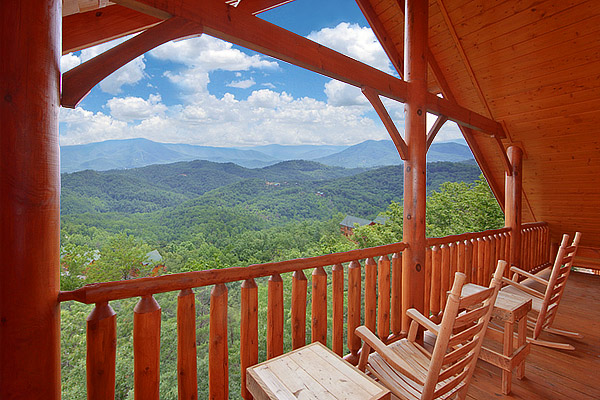 Panoramic Scenic Smoky Mountain Views From Heavenly Heights Cabin In Pigeon Forge 8 Bedroom Large Al