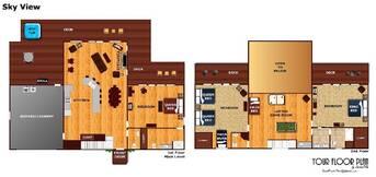 floor plan at Sky View in Shagbark TN