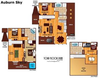Floor Plan at Auburn Sky in Shagbark TN