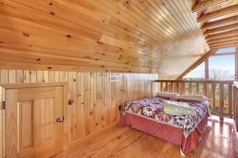 Taken at Bluff Mountain Lodge in Bluff Mountain TN