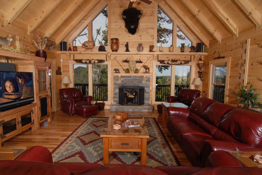 Ken Knights Wilderness Lodge  6 Bedroom Cabin Rental