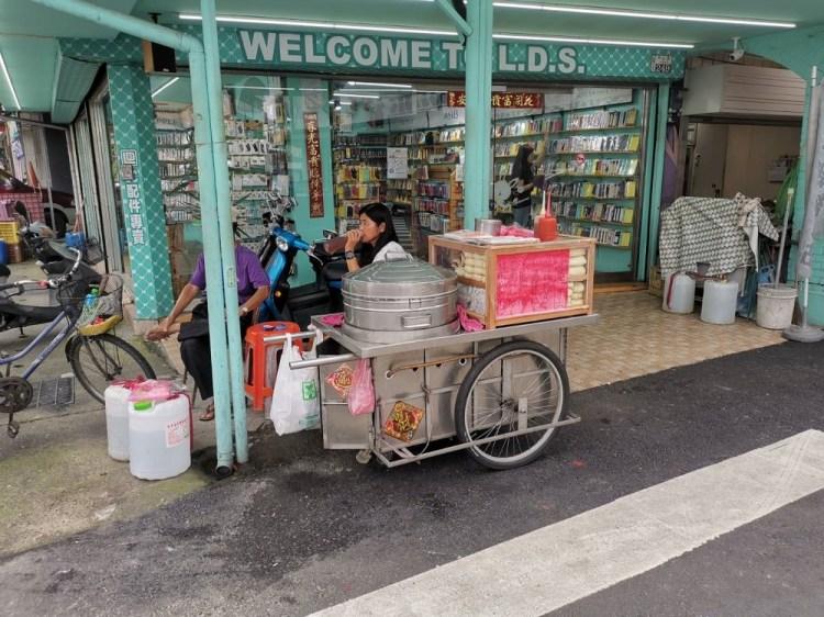 台南佳里無名手工包子攤車。在地人童年回憶 佳里美食