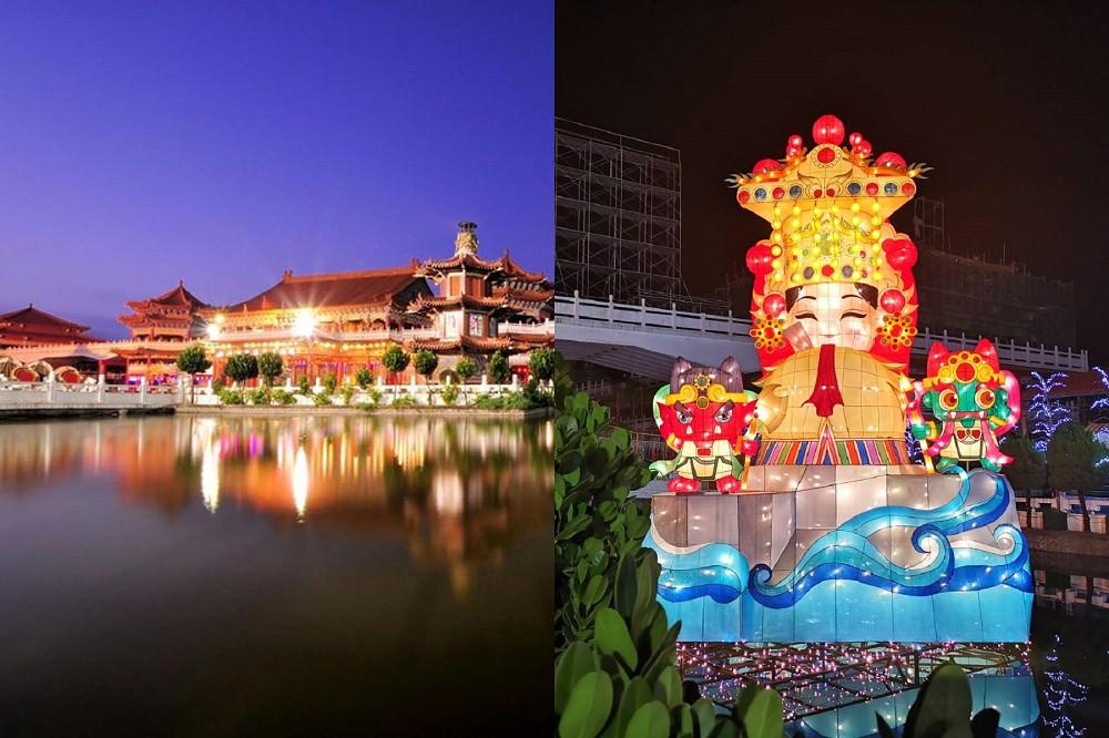 每逢過年必到之點→台南正統鹿耳門聖母廟