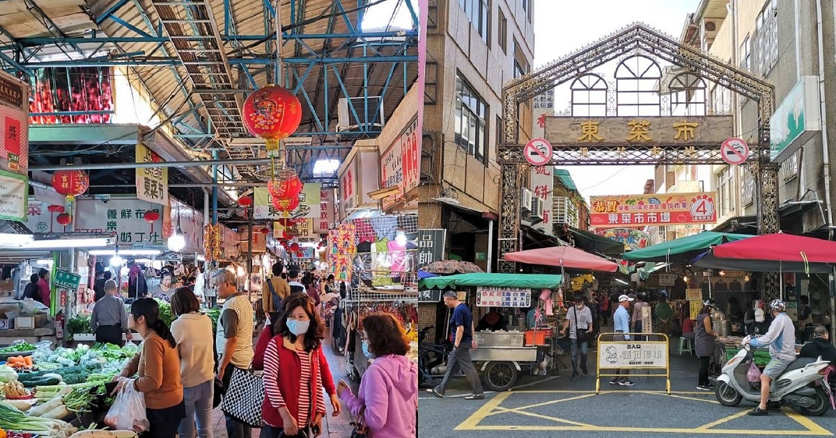 台南東菜市找美食 傳統市場好吃好逛又好買