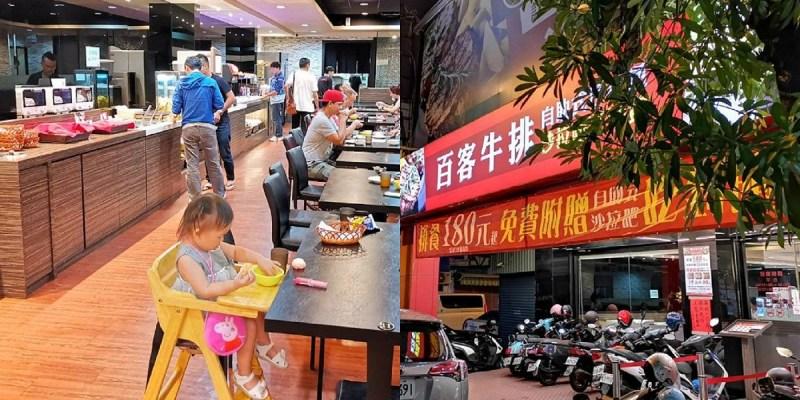 百客牛排。台南文賢路平價牛排|自助吧無限吃到飽|小資族學生聚餐推薦