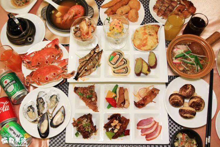 創意料理Buffet!台南吃到飽太狂了!情定城堡吃到飽,龍蝦,天使紅蝦,鮮魚湯無限喝!