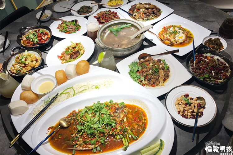【台南美食】麻辣湘菜超下飯,辣味層次豐富的湖南料理!有你真好 湘菜沙龍,道地的人情湘味!