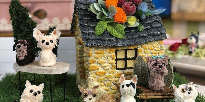 台南北區『甜蜜小花店』不凋花手作,台灣首間HFD認證代表校,最觸動人心的寵物系列體驗~