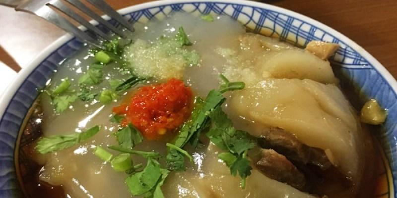 台南美食,在地人的好味道,崑山科大學生最愛的水里益伯肉圓!