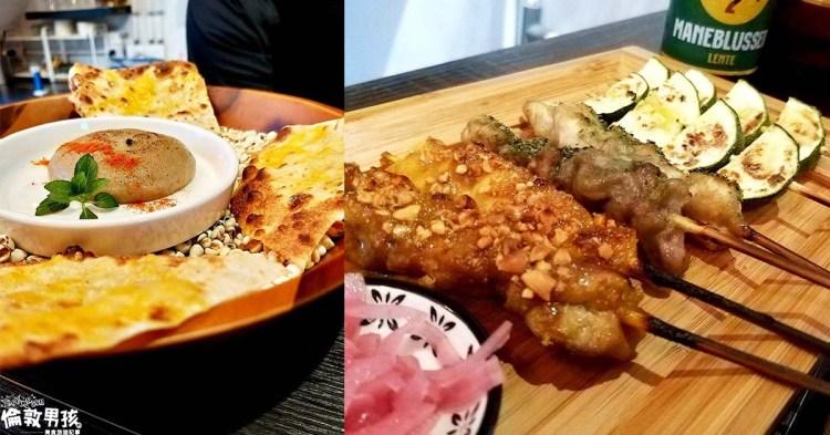 台南泰式燒烤結合特色法式甜點!「涮嘴沙嗲Satay」兼具視覺與味覺享受~