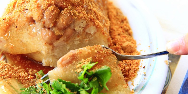 【台南端午粽子】小西門圓環「黃家菜粽」,價格親民的老味道~