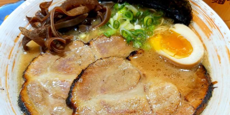 台南應用科技大學周邊美食推薦-新行街上的日式拉麵「麵屋青鈴」