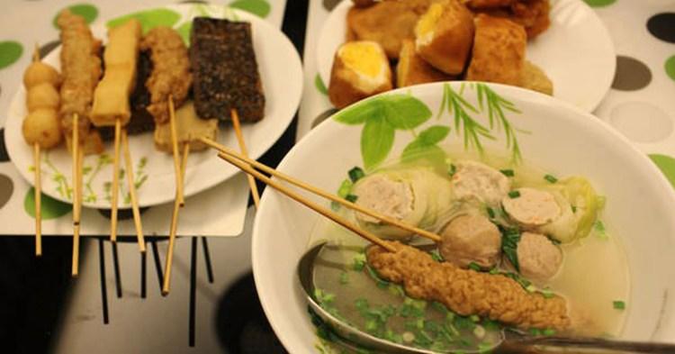崑山科大周邊美食,知名度超高的「歸仁黑輪」崑山分店,在地的平價美食!
