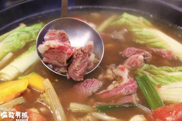 台南火鍋推薦,令人驚豔的紅燒牛尾鍋就在「鴻牛溫體牛肉鍋」!